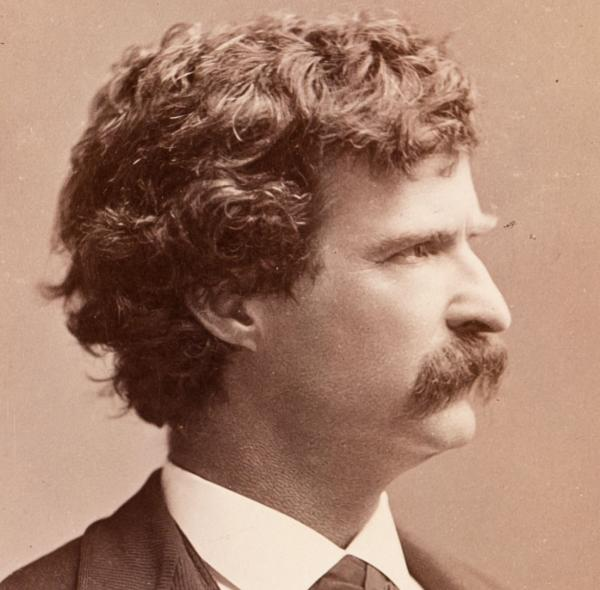 photo of Mark Twain